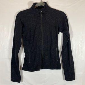Lululemon Black Zip-Up Sweater size 4